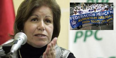 Lourdes Flores: Incremento de S/.140 millones a médicos es manejable
