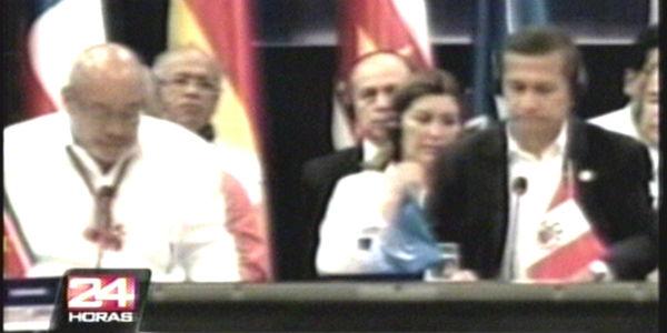 Suriname: Humala entregó presidencia pro-témpore de Unasur