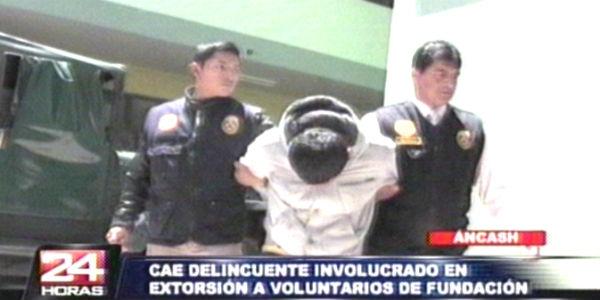 Detienen a líder de banda que extorsionaba a religiosos italianos en Huaraz