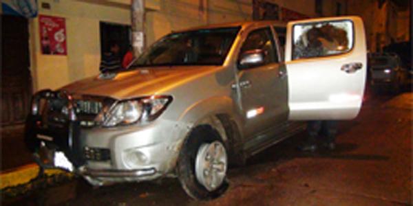 Comas: se recupera empresario que fue baleado por evitar robo de camioneta