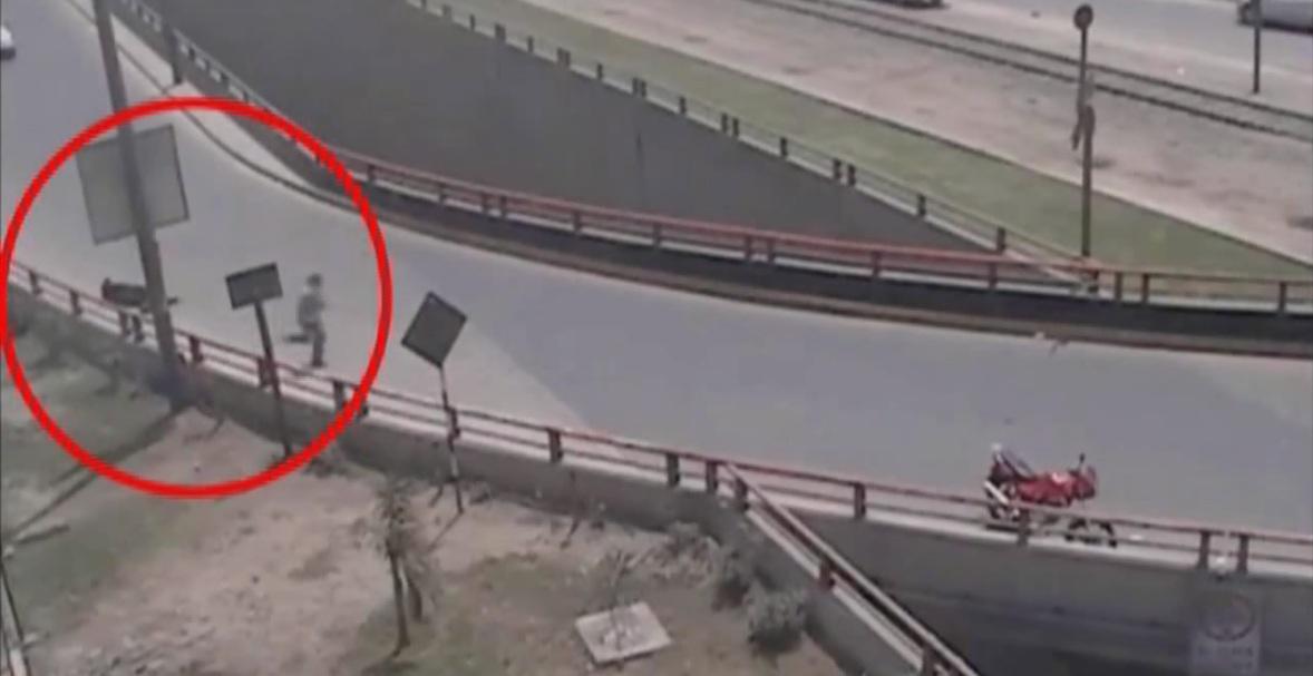 Identifican a delincuente que baleó a policía por frustrar asalto en Ate Vitarte