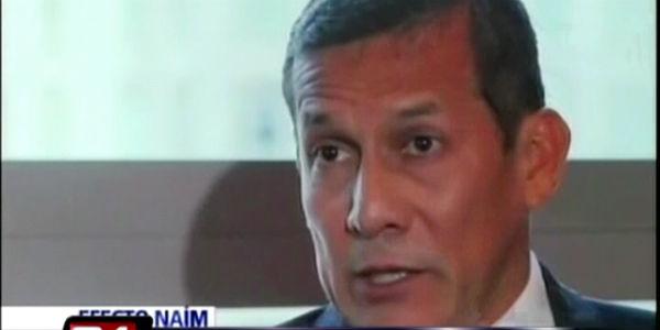 Ollanta Humala asegura que carisma de Nadine inquieta a políticos tradicionales