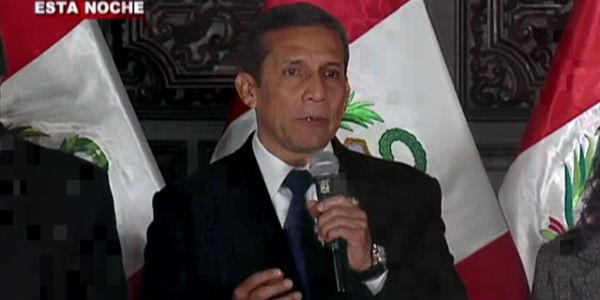 Humala felicitó a equipo que consiguió sede de Panamericanos 2019 para Lima