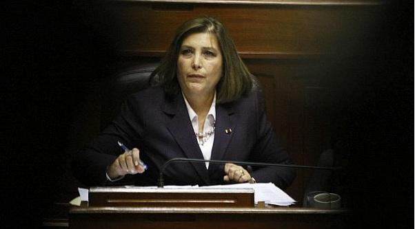 Eda Rivas afirma que moción de censura en su contra afecta imagen del país