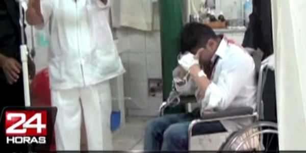 Arequipa: sujeto acusado de robo intentó suIcidarse durante audiencia judicial