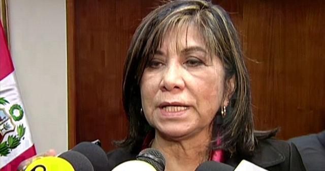 Declaran nula la designación de Martha Chávez como coordinadora de DDHH