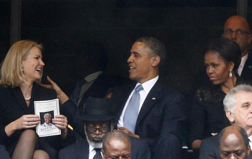 FOTOS: la mujer que desató los celos de la esposa de Barack Obama
