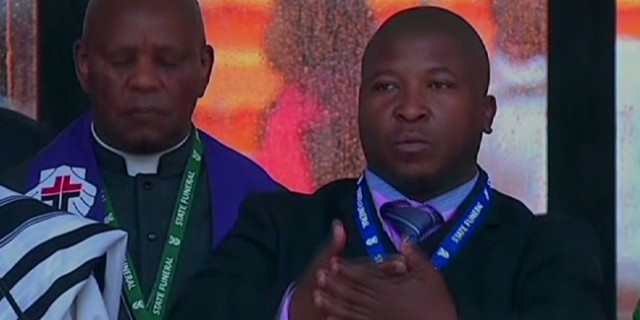 Falso intérprete en funeral de Mandela: Quería denunciar vulnerabilidad del gobierno