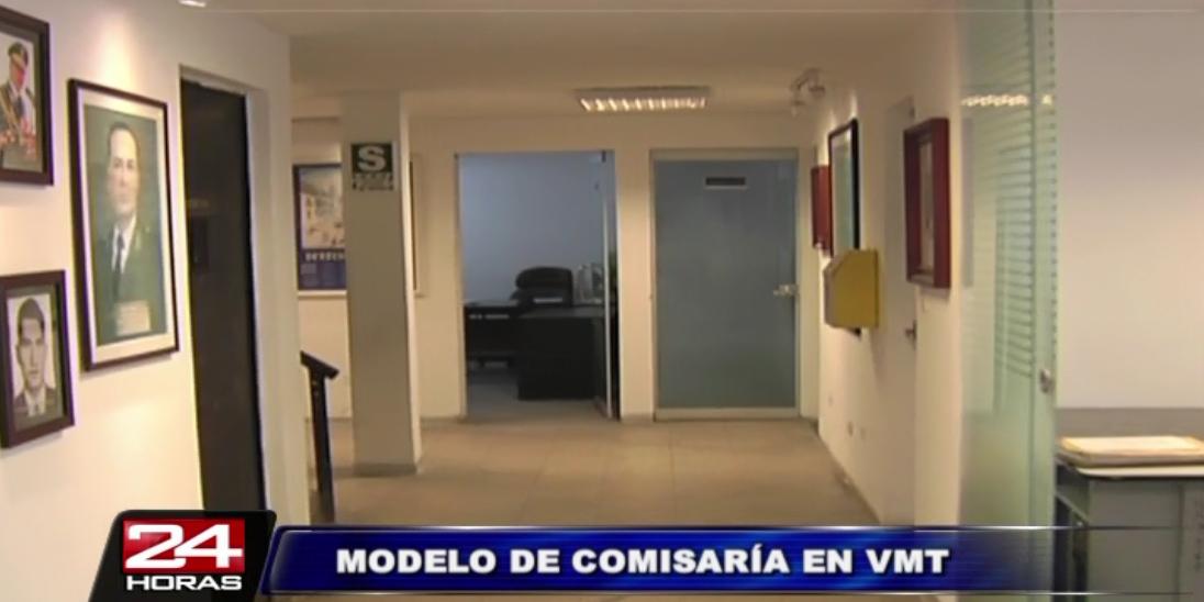 Presentan remodelada comisaría modelo en Villa María del Triunfo