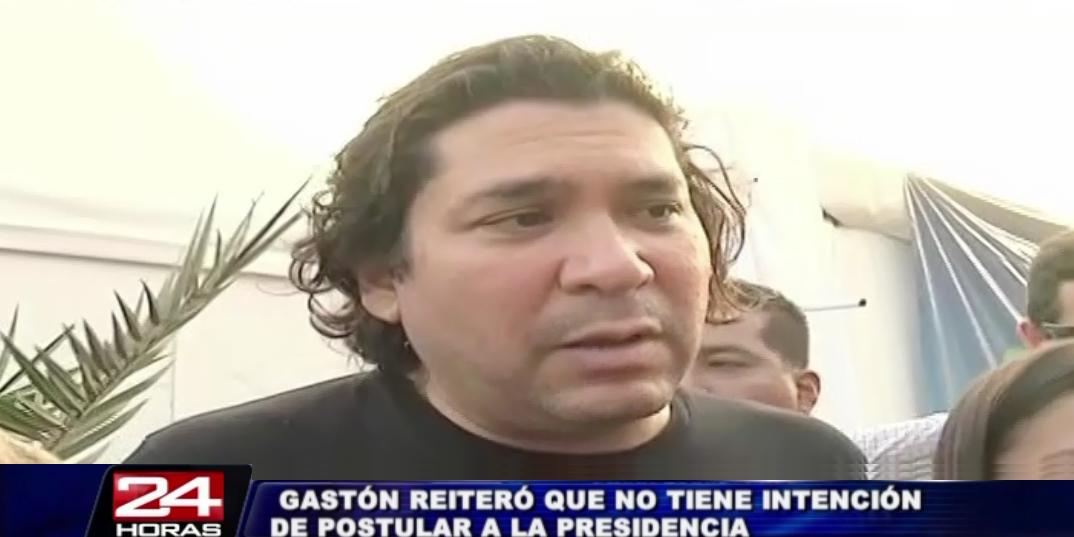 Gastón Acurio niega tajantemente ser candidato en elecciones presidenciales