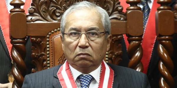 Presentan denuncia constitucional contra fiscal Chávarry