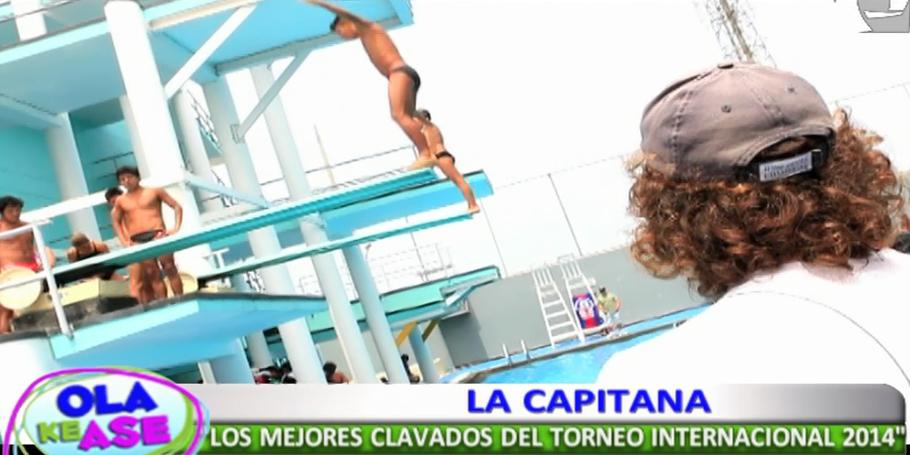 La Capitana presenta todo lo que no se vio del Torneo Internacional de Clavados