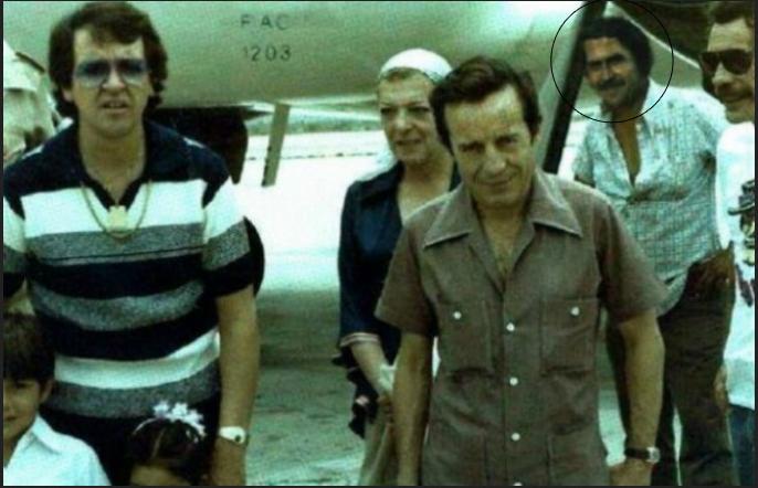 Foto de elenco del 'Chavo del 8' junto a Pablo Escobar desconcierta a cibernautas