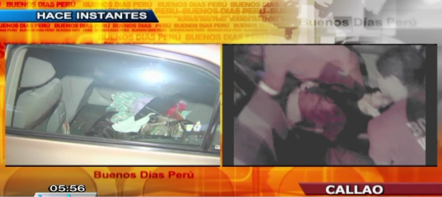 Ladrones habrían baleado a dos personas a metros del aeropuerto Jorge Chávez