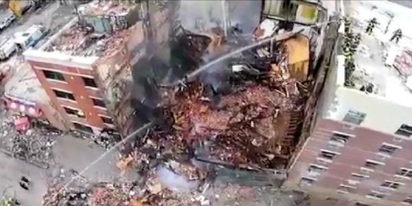 Nueva York: suben a ocho los muertos tras explosión y derrumbe de edificios