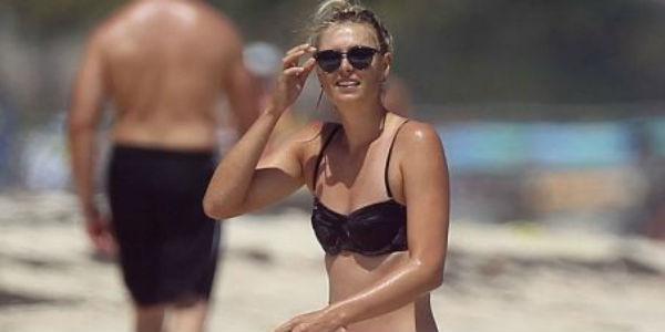 FOTOS: la Sharapova se toma un descanso en Cancún para alegría de sus fans