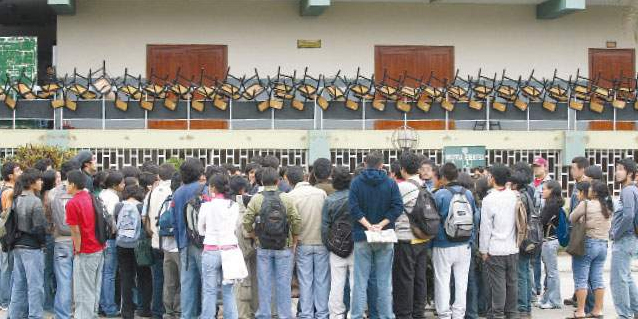 Senaju: 98% de sanmarquinos ven ideas de Movadef como negativas para el país