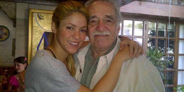 Shakira dedicó emotivo mensaje a su gran amigo Gabriel García Márquez