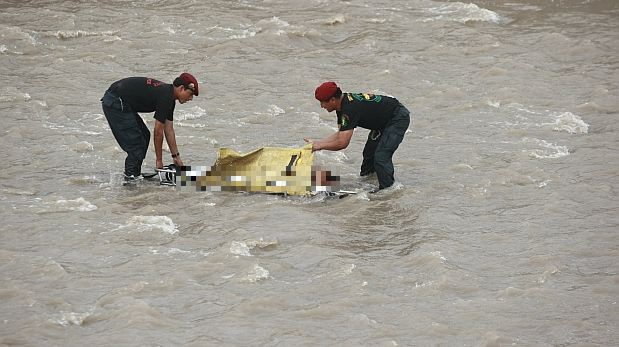 Hallan el cuerpo sin vida de un hombre de 50 años de edad en el río Rímac