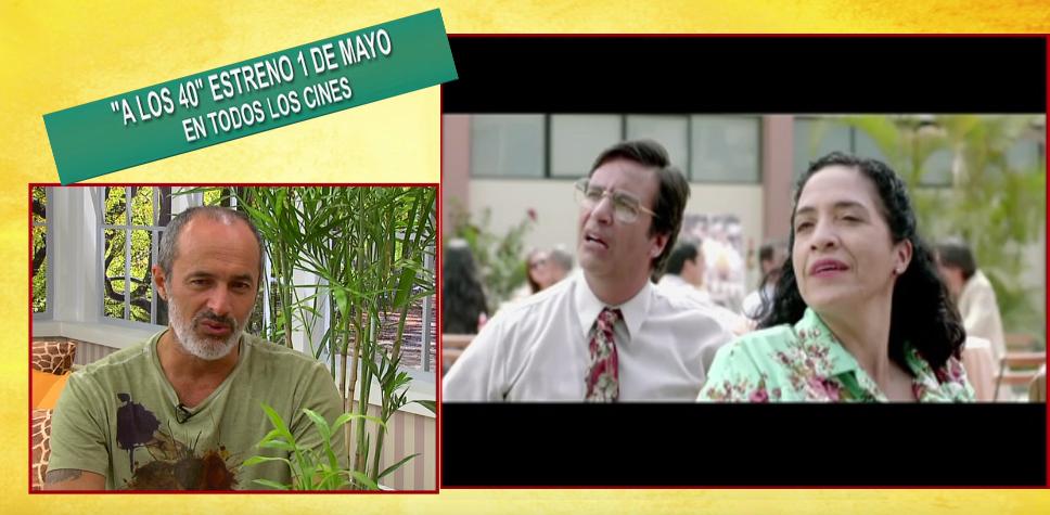 'A los 40': Carlos Alcántara nos cuenta detalles de la comedia peruana