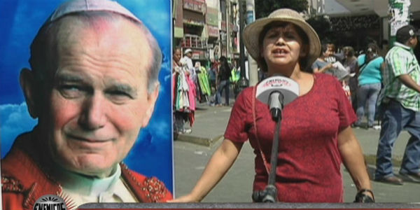 Gran expectativa entre limeños por canonización de Juan Pablo II