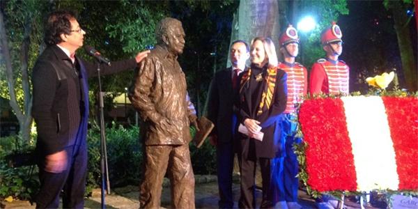 Perú realizó homenaje a Gabriel García Márquez en Colombia