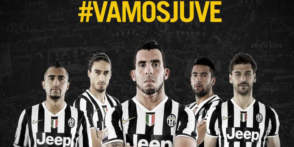 VIDEO: la Juventus de Turín habla español gracias a Carlos Tevez