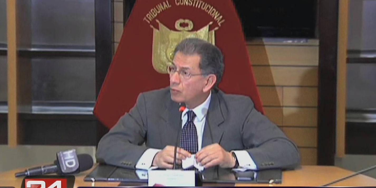 Tribunal Constitucional negó que fallo que nombra a fiscal sea un golpe de Estado
