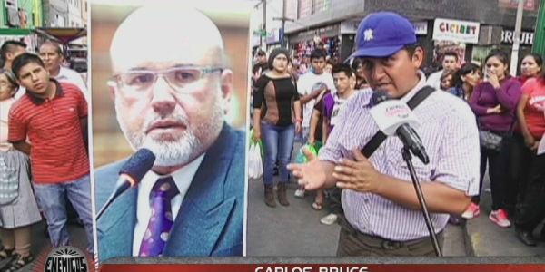 Carlos Bruce: ciudadanos califican de valiente confesión de su homosexualidad