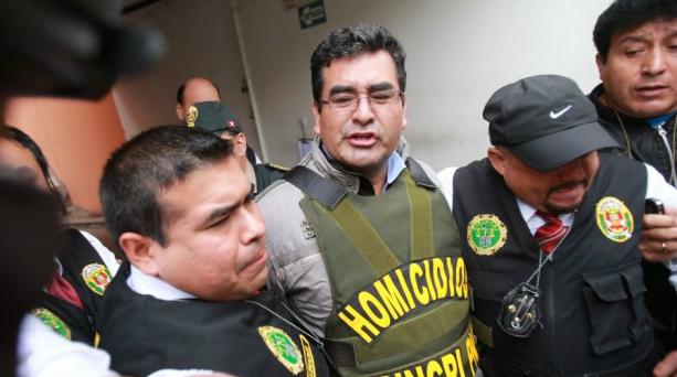 César Álvarez fue trasladado a la Sala Penal Nacional donde evaluarán detención