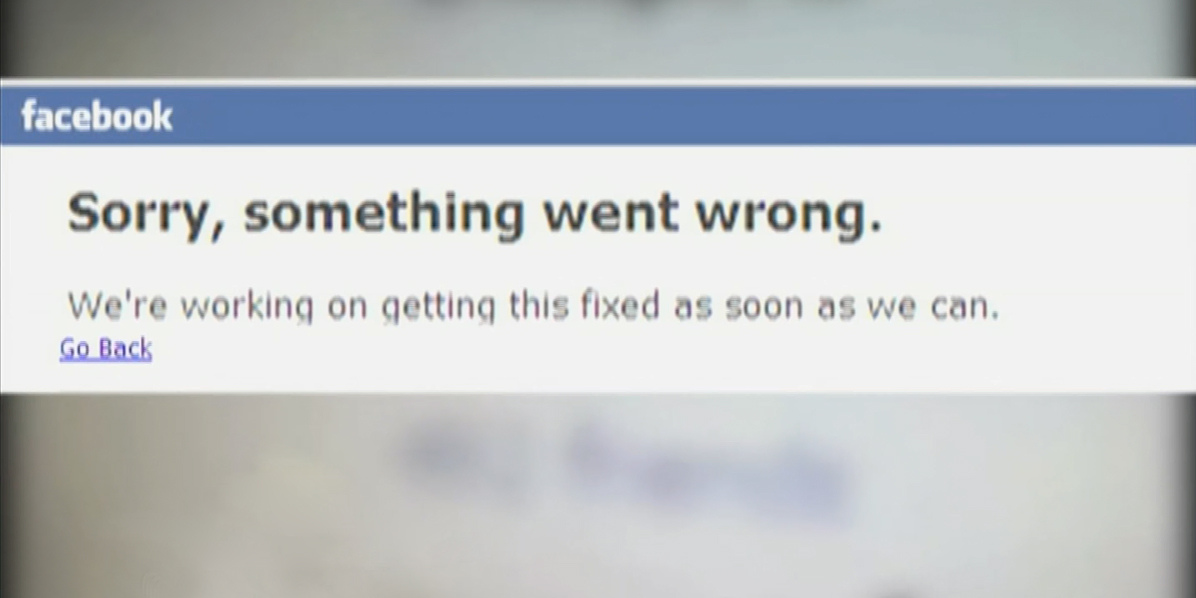 Reportaron caída del servicio de Facebook a nivel mundial
