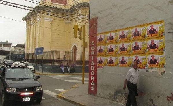 Alcalde de Chiclayo fue sancionado por excesiva propaganda política