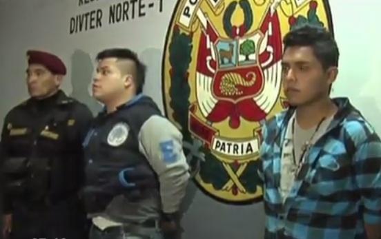 Los Olivos: Policía capturó a miembros de una banda de 'raqueteros'