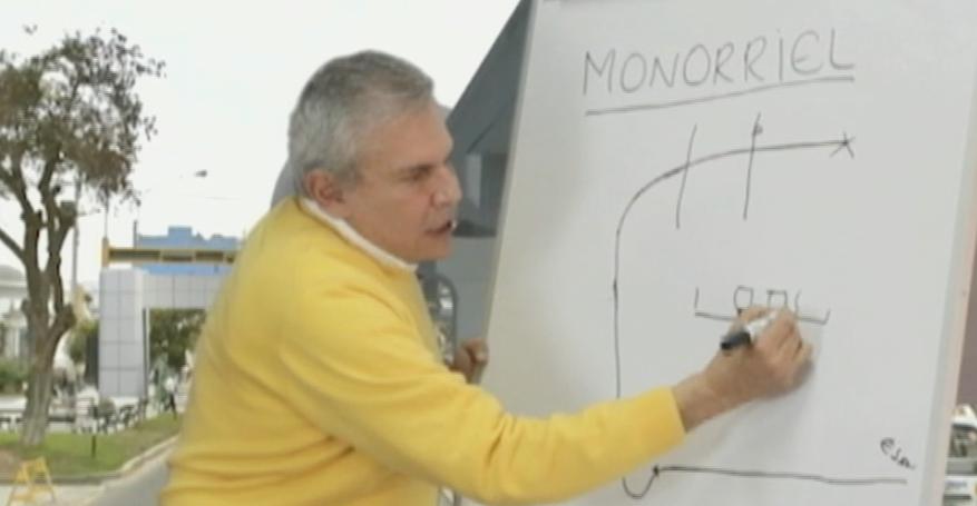 Luis Castañeda presentó propuestas sobre transporte a través de un video