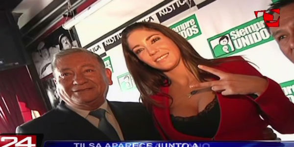 Felipe Castillo: postulante apareció junto a Tilsa Lozano