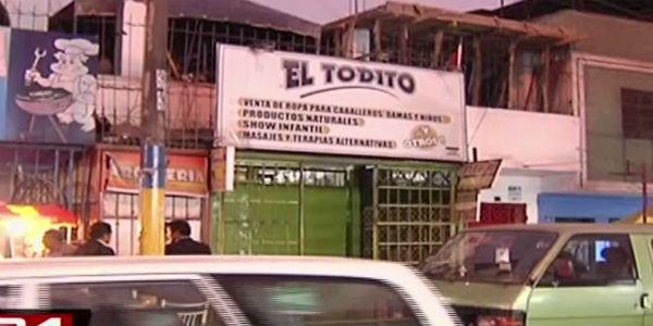 Asaltan 10 tiendas de galería en San Juan de Lurigancho