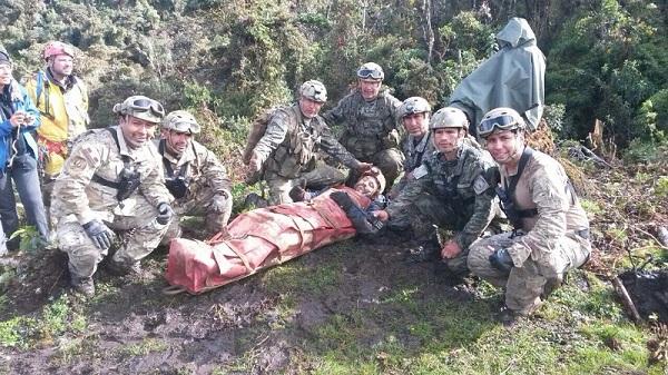 FOTOS: así fue el rescate del espeleólogo español  atrapado en cueva Intimachay