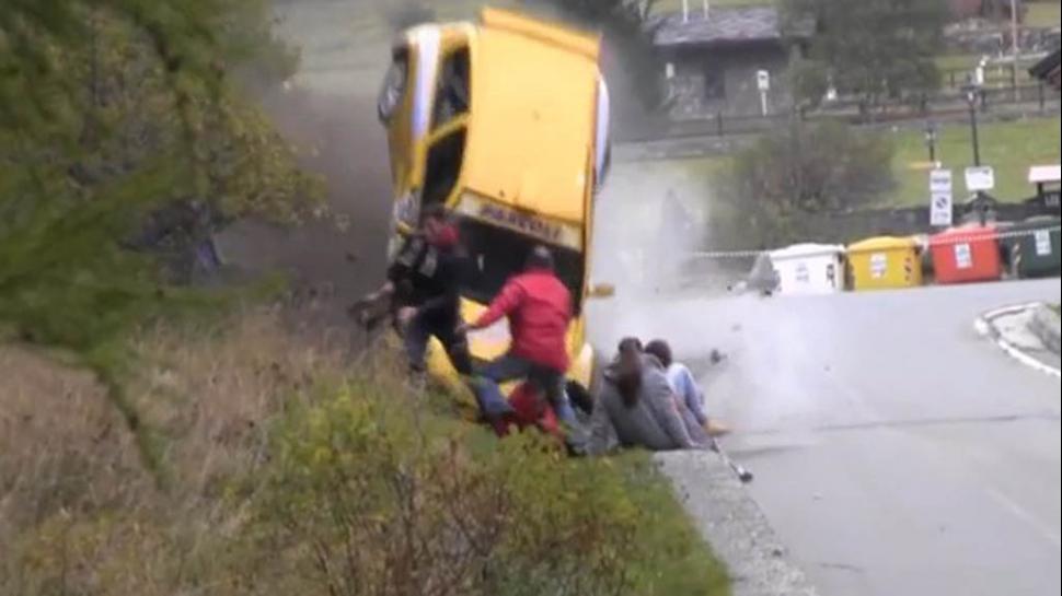 ¡Al límite!: personas que se salvaron de morir arrollados por autos de carrera