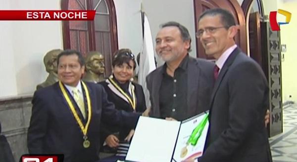 Colegio de Periodistas de Lima reconoce trayectoria de Panamericana Televisión