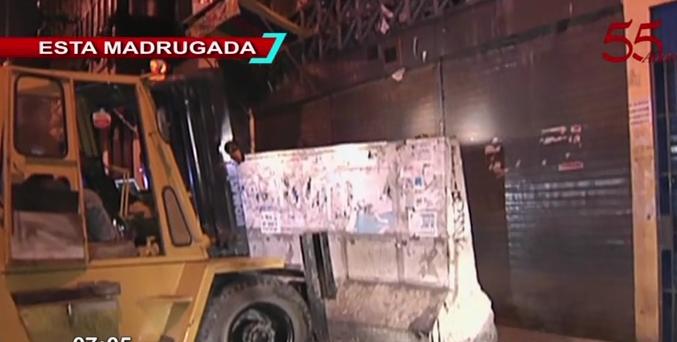 Cercado de Lima: autoridades clausuran galería por no cumplir con normas de seguridad