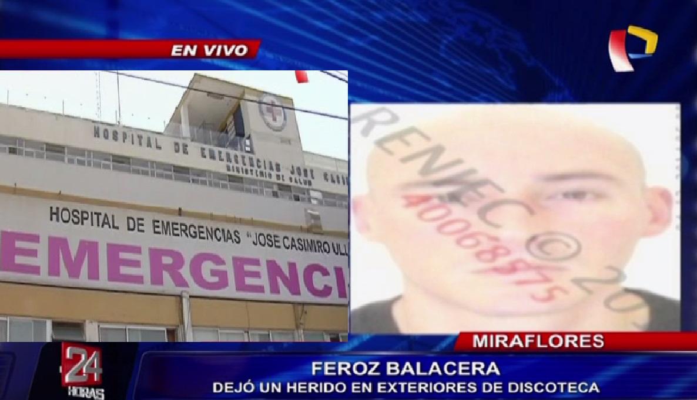 Sujeto que fue baleado en discoteca de Miraflores se recupera favorablemente