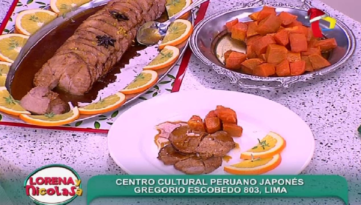 Aprende cómo preparar rollo de cerdo a la naranja para la cena navideña