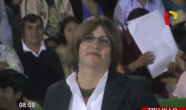 Trujillo: primera regidora transgénero juramentó entre aplausos