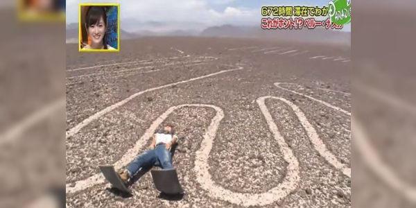 Indignación por periodista japonesa que atentó contra Líneas de Nazca