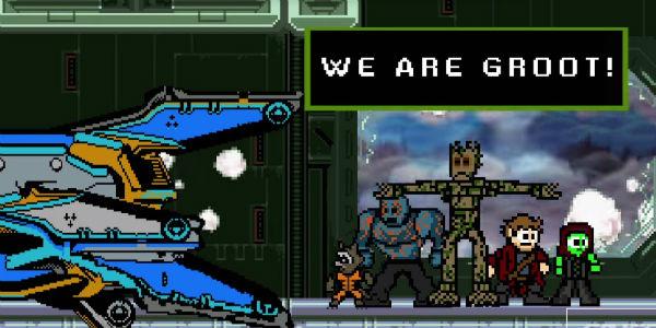 YouTube: Guardianes de la Galaxia ¡mira la película contada como un videojuego!