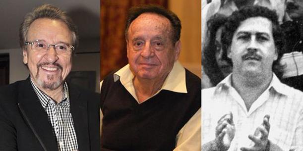 Carlos Villagrán reveló que 'Chespirito' asistió a fiestas de Pablo Escobar