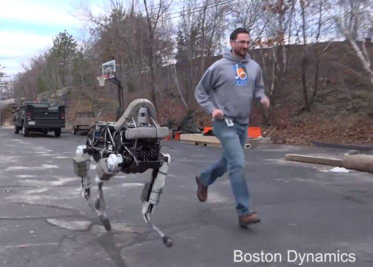 Conoce a Spot, el asombroso nuevo perrito robot de Google y Boston Dynamics
