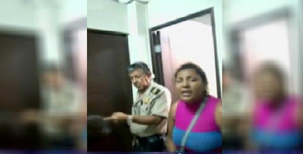 Tumbes: mujer en estado de ebriedad arma escándalo en comisaría