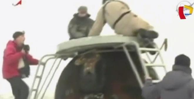 Kazajistán: nave Soyuz aterrizó tras permanecer seis meses en estación espacial