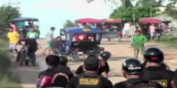 Pucallpa: atacan comisaría para llevarse camión con madera incautado